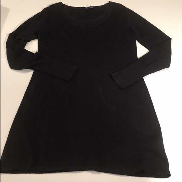 Cynthia Rowley Sweaters - Cynthia Rowley Navy Medium Cashmere Tunic Sweater